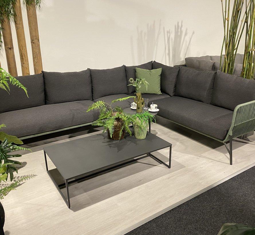 Antara modulair hoek loungeset 6 delig groen rope