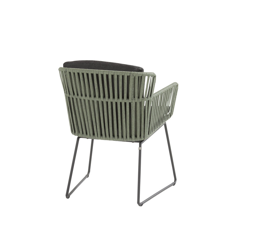 Vitali dining stoel groen rope Taste 4SO