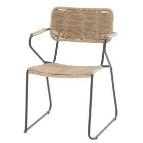 Taste 4SO Swing stapelbare dining stoel naturel rope Taste 4SO