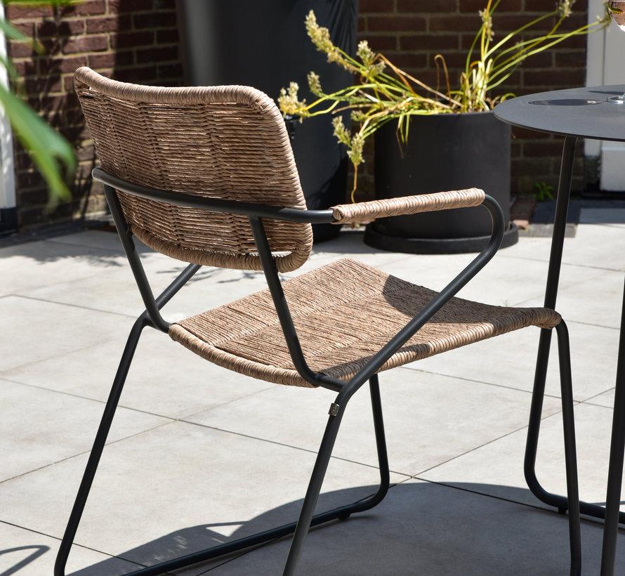 Swing stapelbare dining stoel naturel rope Taste 4SO