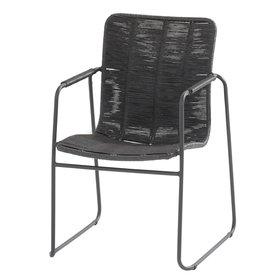 Taste 4SO Palma stapelbare dining stoel antraciet Taste 4SO