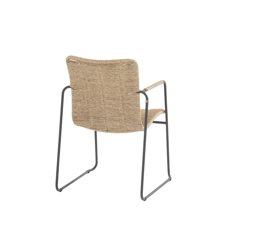 Palma stapelbare dining stoel naturel Taste 4SO
