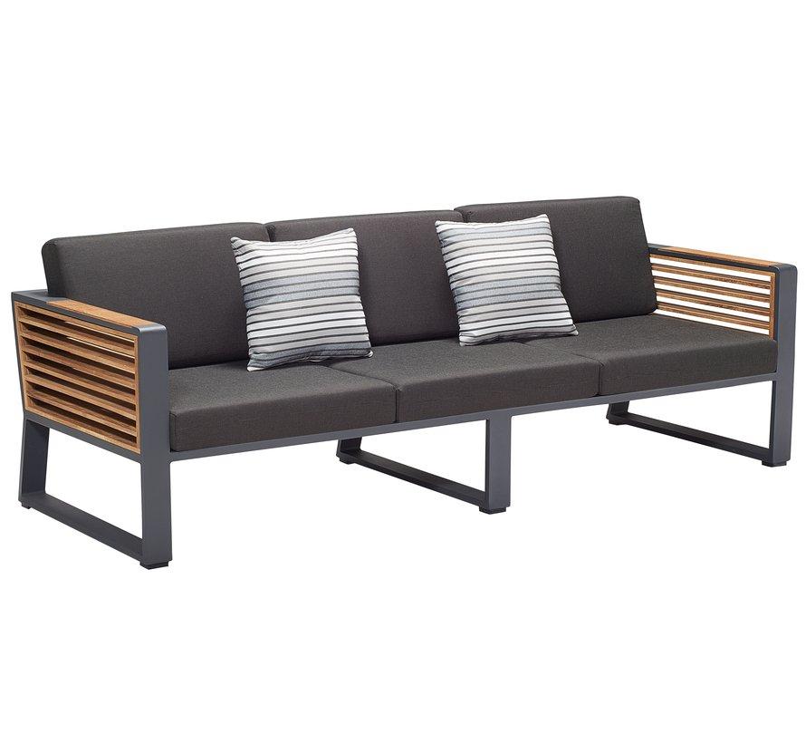 New York stoel bank loungeset 4 delig aluminium Higold