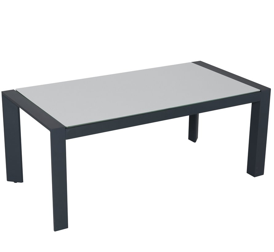 Fortaleza  lounge tuintafel 110x56xH44,5 cm antraciet