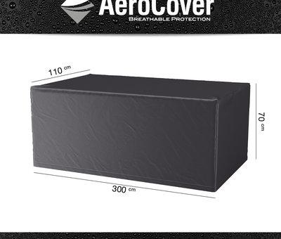 Studio 20 Marbella dining tuintafel 300x100xH75 cm 3 cm graniet black gezoet Angola