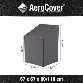 Aerocover Stapelstoelhoes 67x67xH80-110 cm - AeroCover