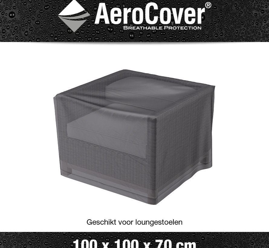 Loungestoelhoes 100x100xH70 cm – AeroCover