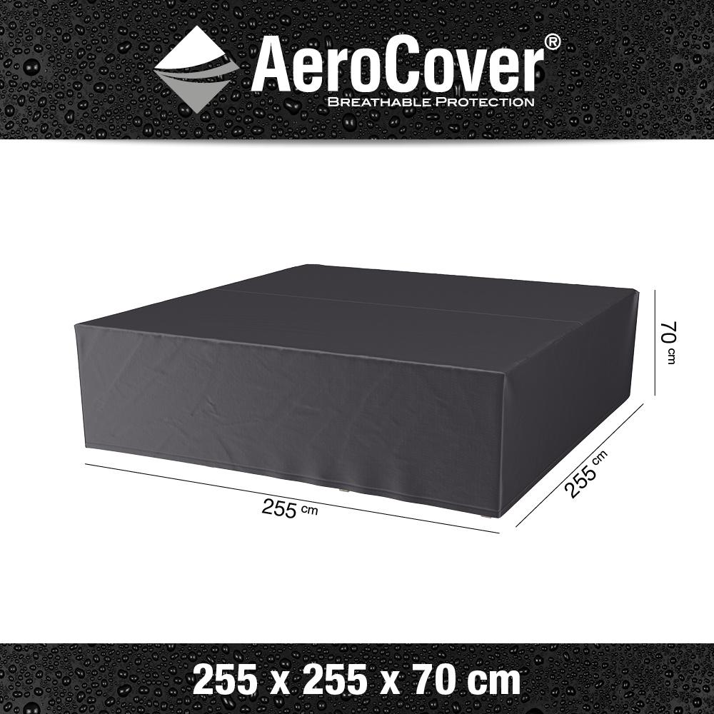 Loungesethoes 255x255xH70 cm? AeroCover