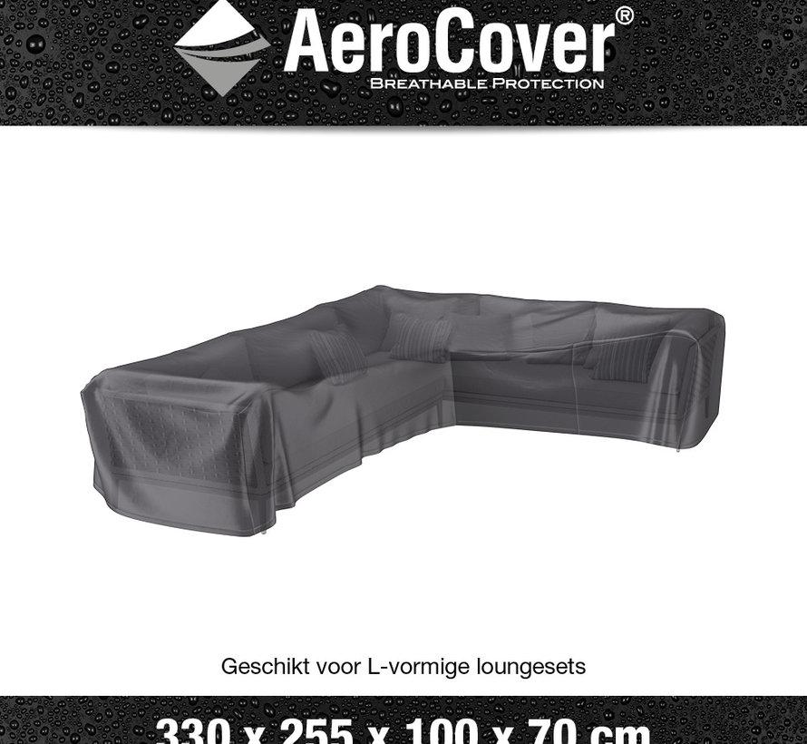 Loungesethoes 330x255x100xH70 cm rechts – AeroCover