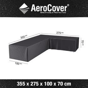 Aerocover Loungesethoes 355x275x100xH70 cm rechts – AeroCover