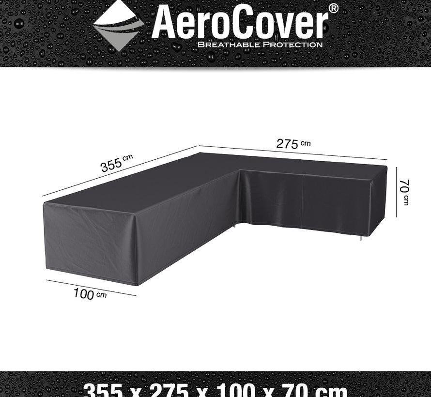 Loungesethoes 355x275x100xH70 cm rechts – AeroCover