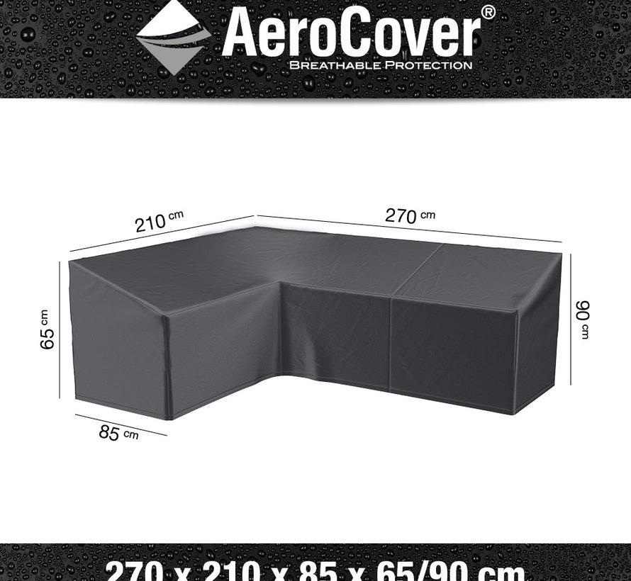 Loungesethoes 270x210x85xH65-90 cm links – AeroCover