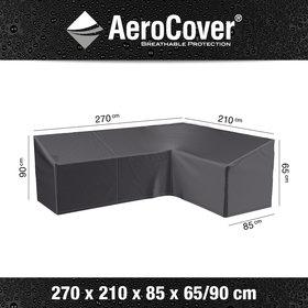 Aerocover Loungesethoes 270x210x85xH65-90 cm rechts – AeroCover