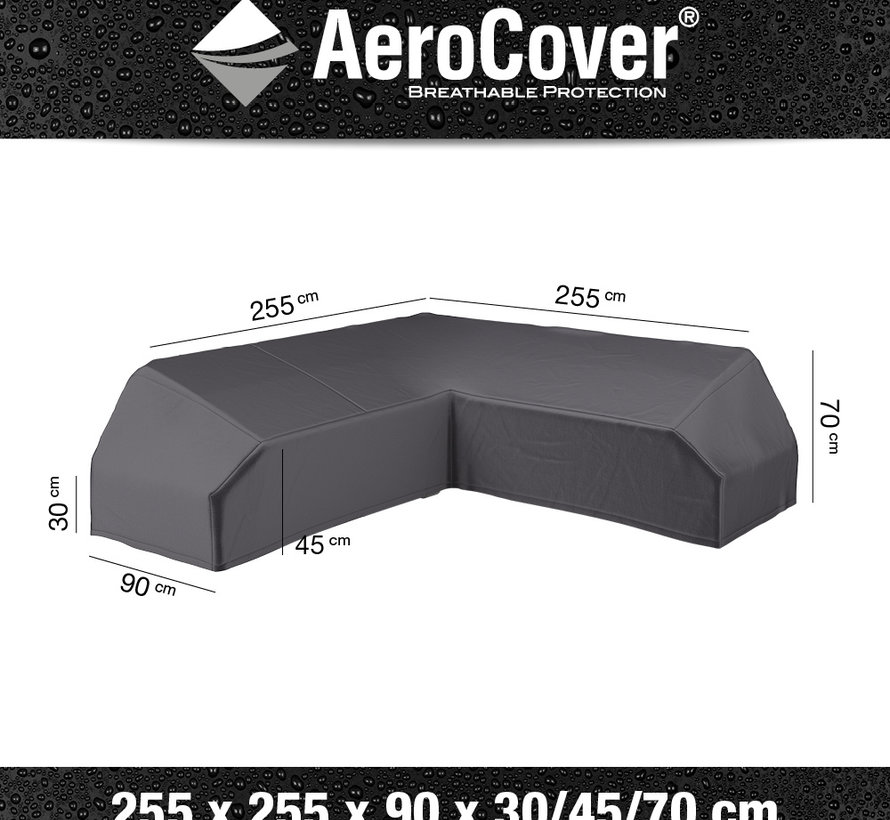 Platform loungesethoes 255x255x90xH30/45/70 cm – AeroCover