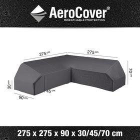 Aerocover Platform loungesethoes 275x275x90xH30/45/70 cm – AeroCover
