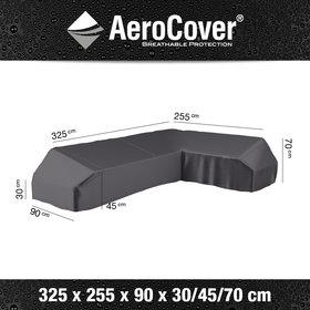 Aerocover Platform loungesethoes 325x255x90xH30/45/70 cm Rechts – AeroCover