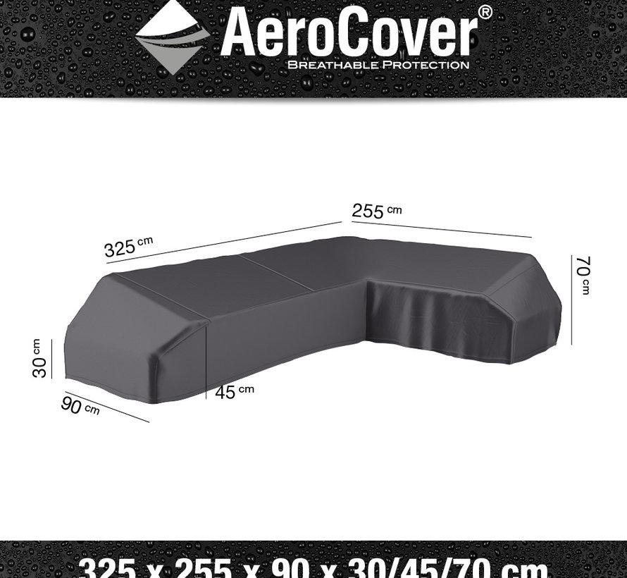 Platform loungesethoes 325x255x90xH30/45/70 cm Rechts – AeroCover