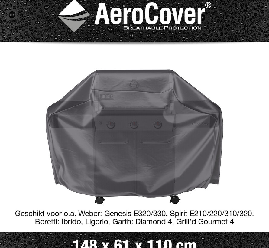 Barbecue hoes 148x61xH110 – AeroCover