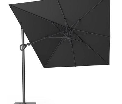 Platinum Challenger T2 premium zweefparasol 350x260 cm faded black