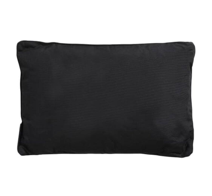 Sierkussen 40x60 cm Panama black