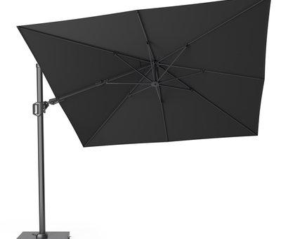 Platinum Challenger T2 premium zweefparasol 300x300 cm faded black