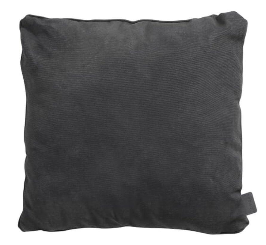 Sierkussen 45x45 cm Panama black