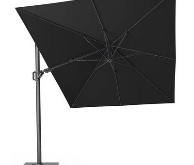 Platinum Challenger T2 zweefparasol 350x260 cm zwart