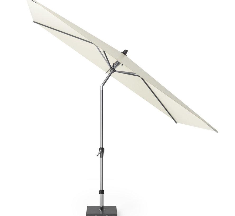 Riva parasol 300x200 cm ecru met kniksysteem