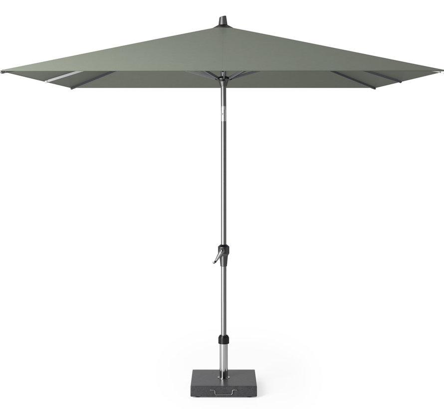 Riva parasol 250x250 cm olijf met kniksysteem
