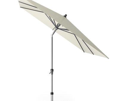 Platinum Riva parasol 250x250 cm ecru met kniksysteem