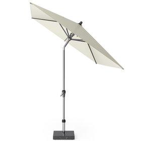 Platinum Riva parasol 250x200 cm ecru met kniksysteem