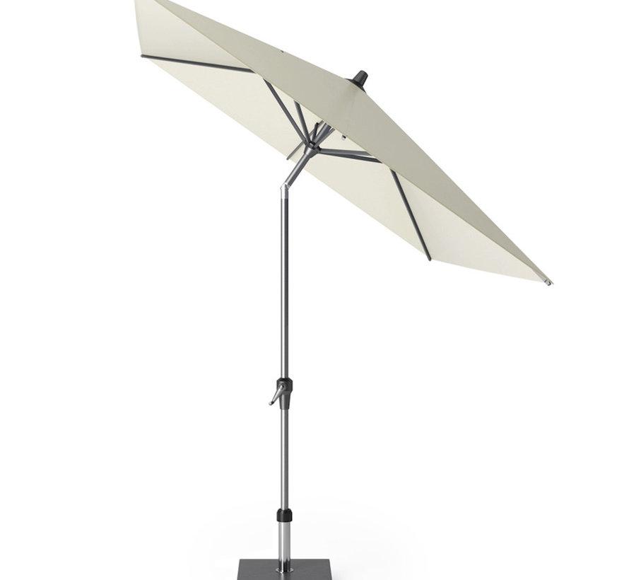 Riva parasol 250x200 cm ecru met kniksysteem