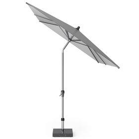 Platinum Riva parasol 250x200 cm lichtgrijs met kniksysteem