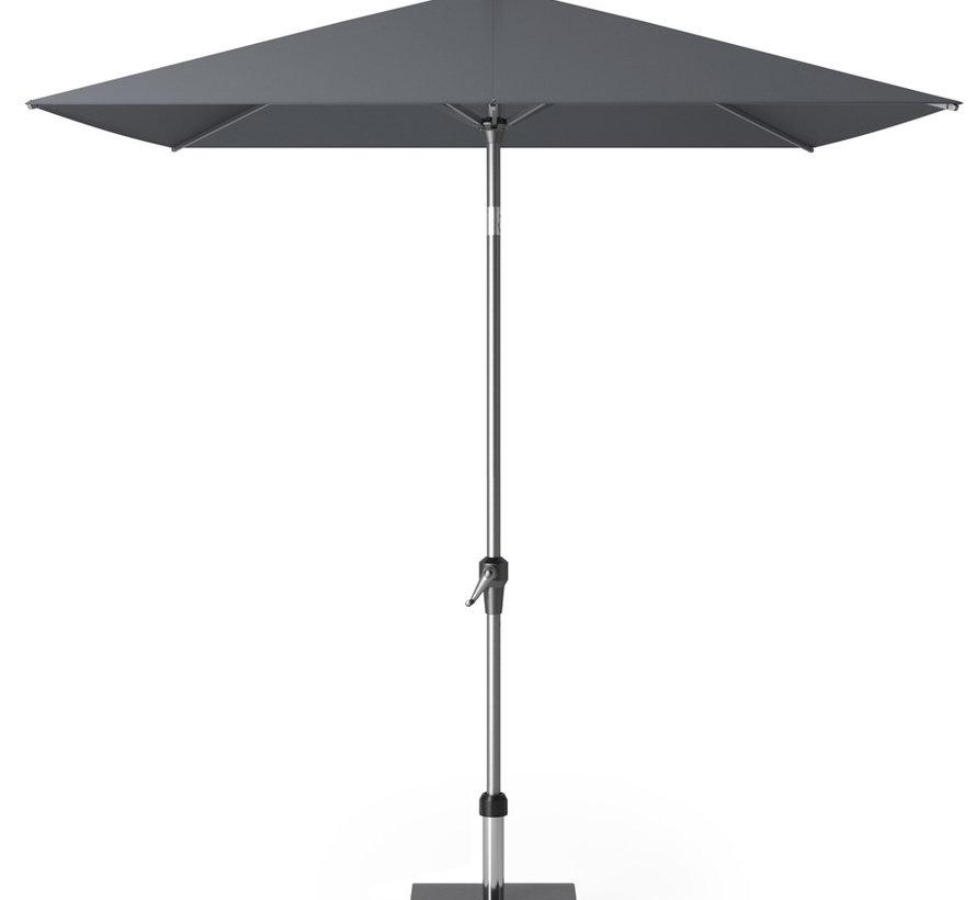 Riva parasol 250x200 cm antraciet met kniksysteem