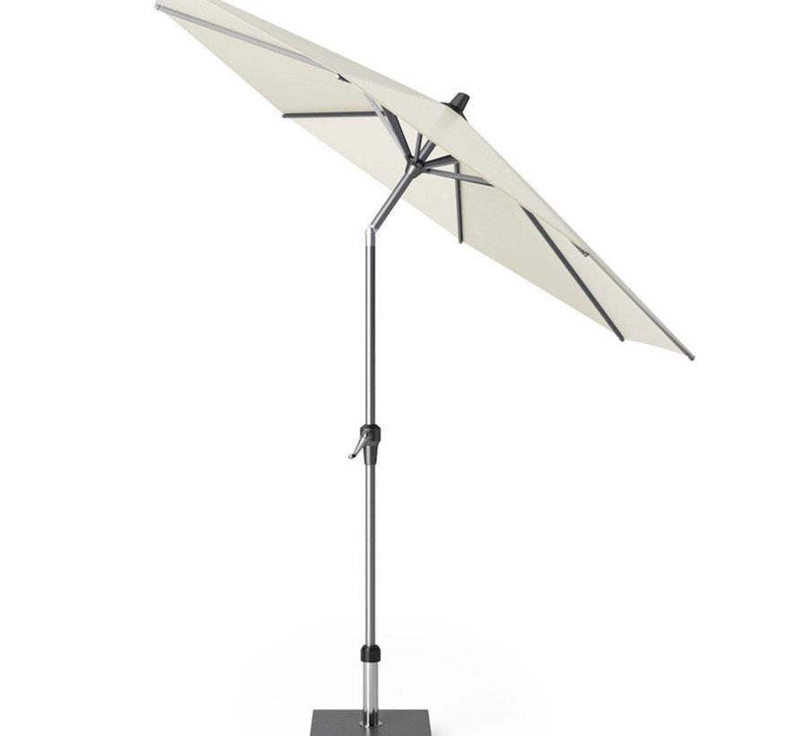 Riva parasol 270 cm rond ecru met kniksysteem