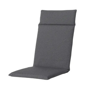 Madison Standenstoel hoge rug kussen 120x50 cm Manchester grey