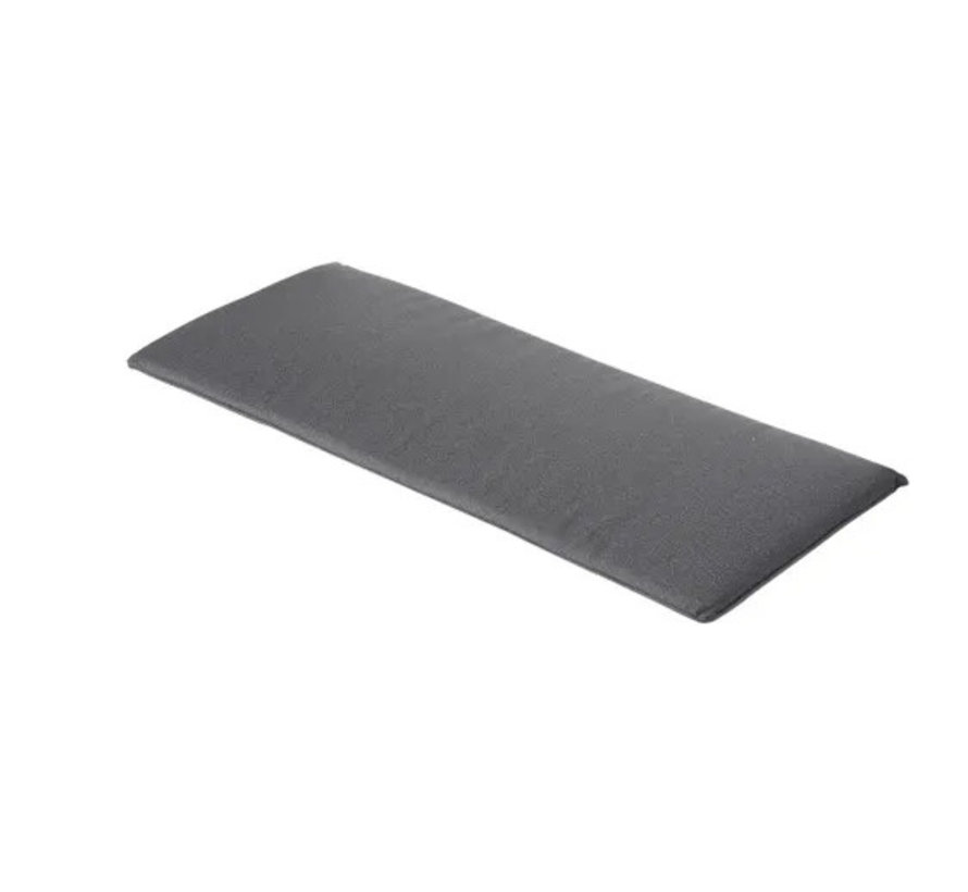 Bankkussen 120x48 cm outdoor Manchester grey