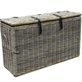 AVH-Collectie Kussenbox middel 151x51xH95 cm naturel rotan