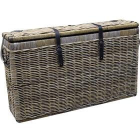 AVH-Collectie Kussenbox klein 135x35xH80 cm naturel rotan