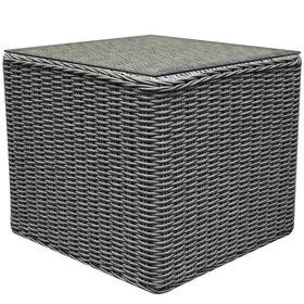 AVH-Collectie Toscane bijzettafel 50x50xH45 cm grijs