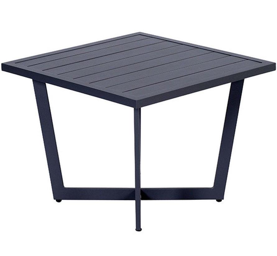 Ivy bijzettafel  62,5x625,5xH47 cm aluminium antraciet