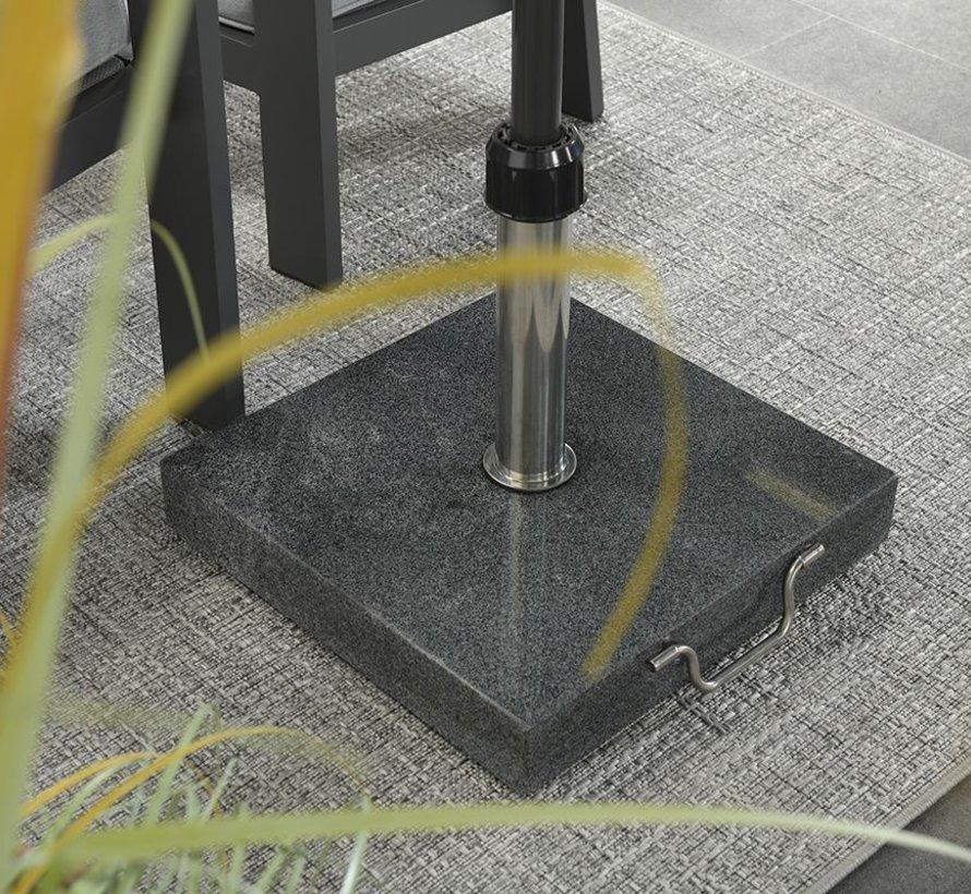 Mirage buitenkleed 160x230 cm grijs