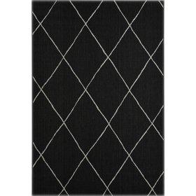 Garden Impressions Diamonds buitenkleed 160x230 cm zwart