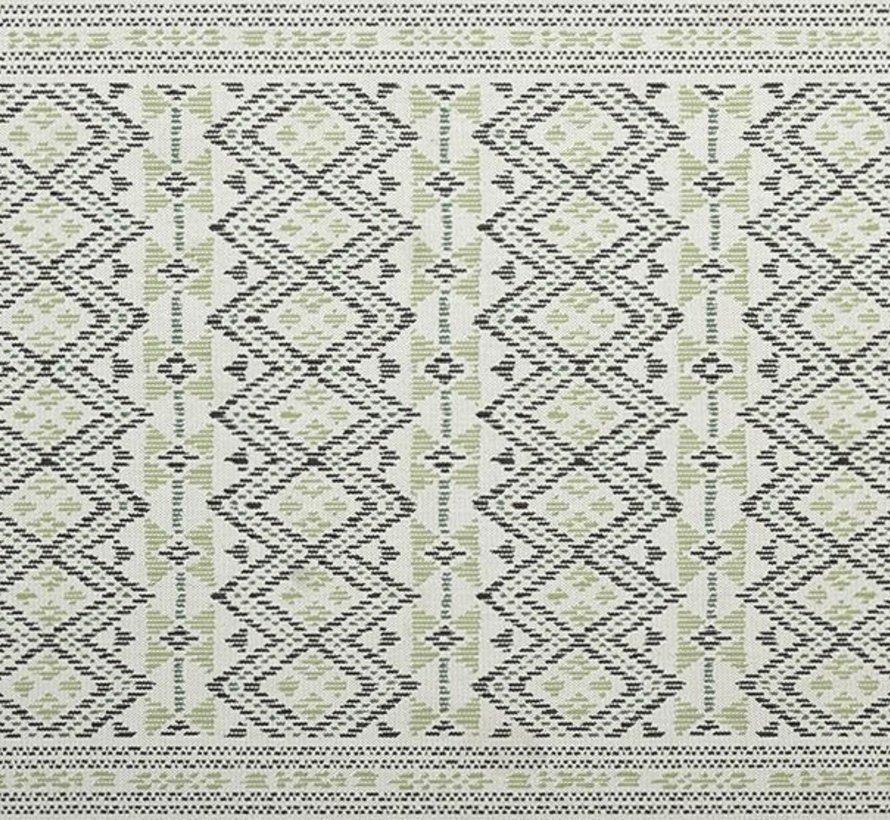 Marakech buitenkleed 160x230 cm groen/blauw