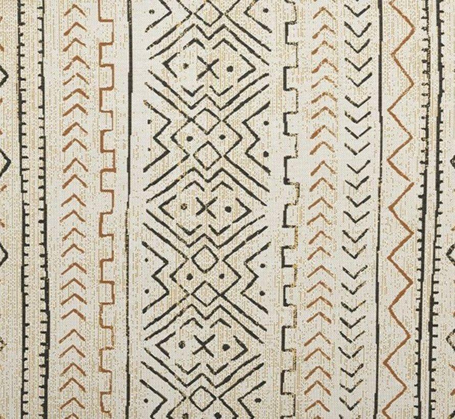 Malawi  buitenkleed 200x290 cm oker