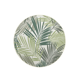 Garden Impressions Naturalis buitenkleed 160 cm rond palm leaf