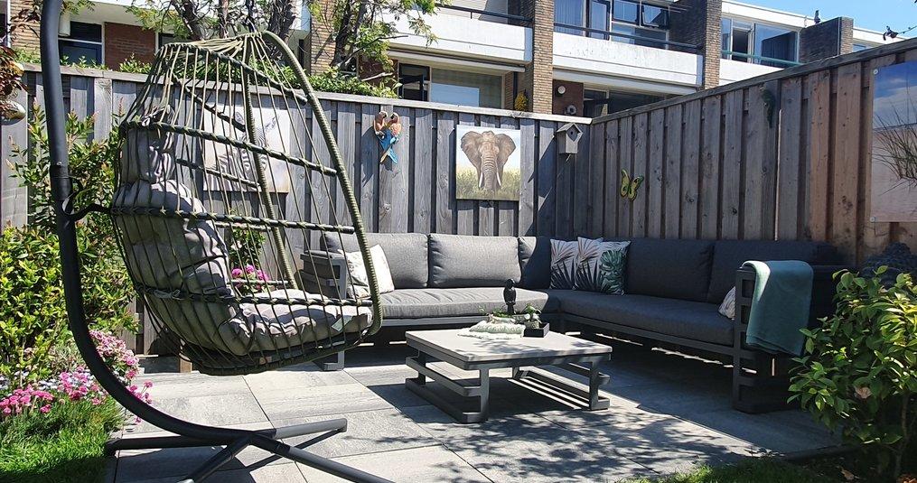 Hoe kun je een kleine achtertuin het beste inrichten?