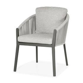 SUNS Avero dining chair matt royal grey/carbon grey/l-anthracite mw