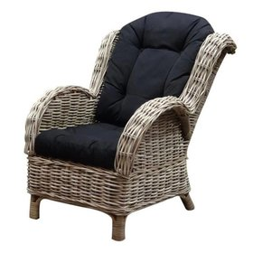 AVH-Collectie Naturel relax lounge tuinstoel - stinson black