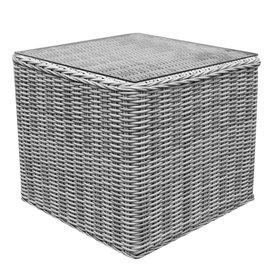 AVH-Collectie Toscane bijzettafel 50x50xH45 cm wit grijs